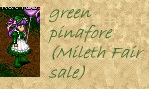 Green Pinafore Set, Mileth Fair Sale