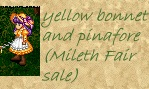 yellow pinafore set, Mileth Fair Sale