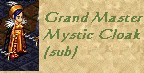 Grand Master Mystic Cloak subpath, as modelled by  Yaseen